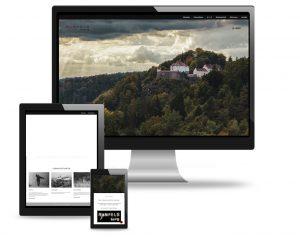 Webdesign-utehieke Burg Ranfels