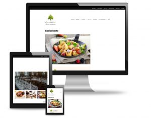Webdesign-utehieke graselwirtin